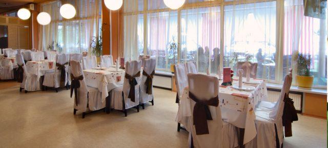 Ресторан в отеле Миргород